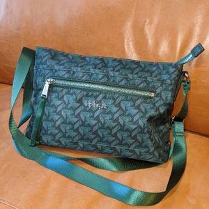 Kipling Alvar Winter Green Crossbody Bag